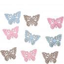 Wood butterfly Merlin for scattering, 2 motifs, 3